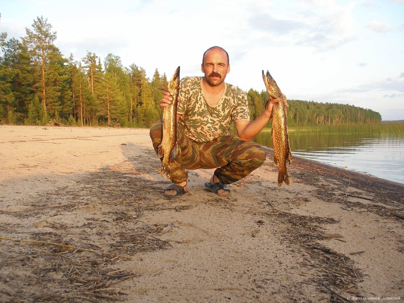 деревня уна рыбалка
